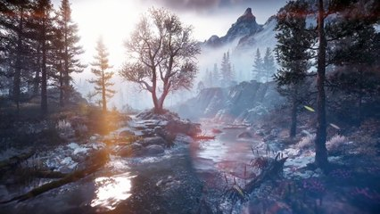 The Frozen Wilds - Environment Trailer de Horizon Zero Dawn