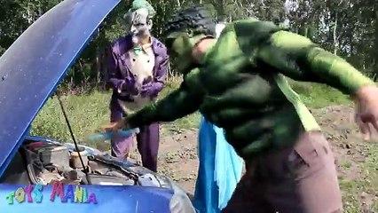 Spiderman & Frozen Elsa Break up?! Superman Kisses Elsa? Funny Superhero Movie in Real Life
