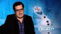 Frozen: Josh Gad, voice of Olaf Official Movie Interview