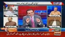 Intense Debate Between Javed Hashmi And Kashif Abbasi