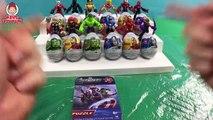 Playskool Heroes Marvel Super Hero Adventures Captain America Iron Man Hulk Spider Man Surprise Eggs