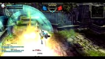 Dragon Nest CN - Lv 93 Destroyer vs Lv 93 Barbarian #Awakening Skill