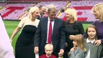 The unveiling of the Kenny Dalglish Stand at Anfield.