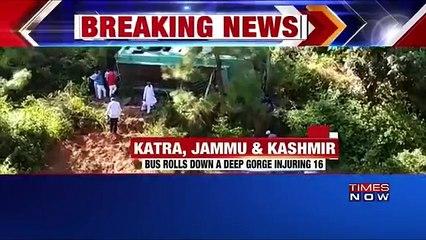 J&K: Bus Rolls Down Gorge In Katra, Several Injured