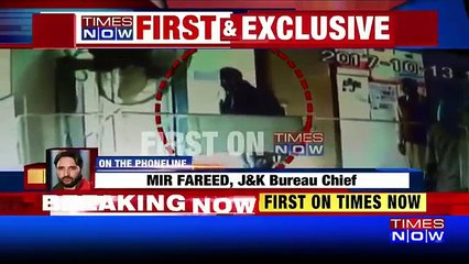 Caught On Cam: Terrorists Barge Into Bank, Loot Rs 2 lakh
