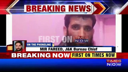 Hizbul Terrorist Caught Alive By Security Forces In Jammu and Kashmir