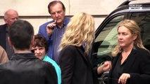 Jean Rochefort : Jean-Paul Belmondo, Guillaume Canet, Guy Bedos... tous présents à ses obsèques (exclu vidéo)