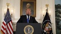 En directo en euronews, discurso de Trump sobre el acuerdo nuclear con Irán