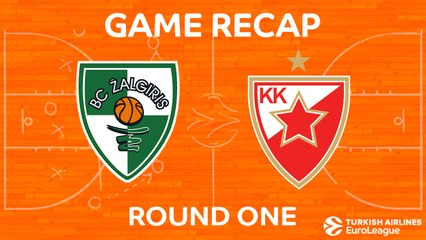EuroLeague 2017-18 Highlights Regular Season Round 1 video: Zalgiris 78-76 Crvena Zvezda