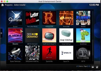 How to use Kodi and install add ons