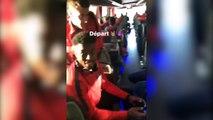 Quand les joueurs du PSG jouent à FIFA dans le bus