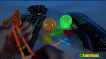 Learning for Children Learn Colors with GLOW IN THE DARK Toys Light Up Glow Sticks ABC Surprises