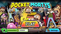 Pocket Mortys NEW UPDATE 4 NEW MORTYS