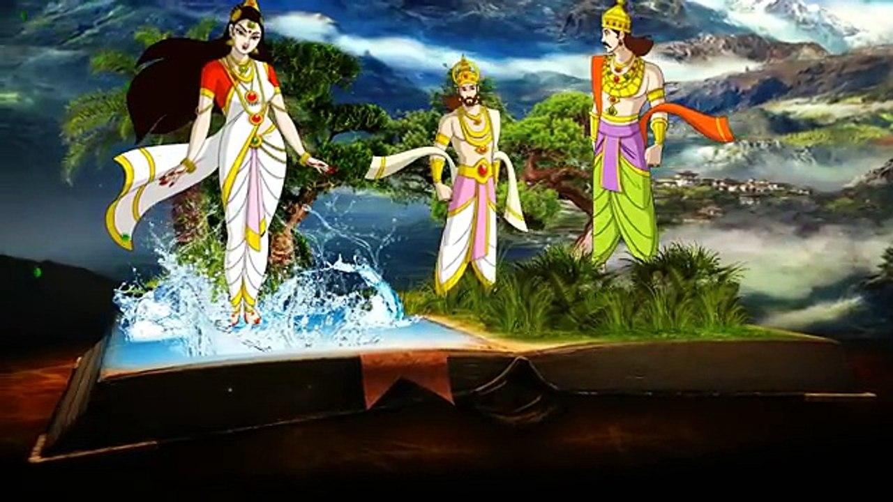 Mahabharatam Episode 3 Story Of Bheeshma స ప ర ణ మహ భ రత భ 3 భ ష మ ప త మహ డ కధ Tfc Spiritual Video Dailymotion