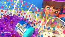 Vasos Sorpresa Anna de Frozen Dora la Exploradora Monster High Cajitas Sorpresas y Huevos de Slime