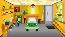 Kids Cartoons: The Ambulance with Cars & Trucks - Emergency Cars Cartoons
