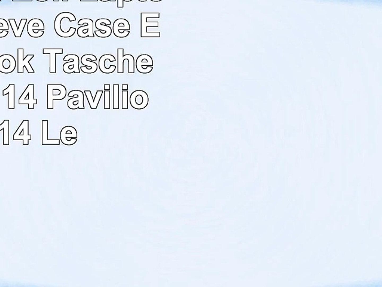 CAISON 14 Zoll Laptophülle Sleeve Case Etui Notebook Tasche für 14 HP 14 Pavilion 14  14