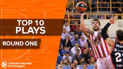 Top 10 Plays - Turkish Airlines EuroLeague Regular Season, Round 1