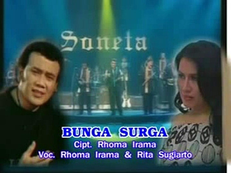 BUNGA SURGA#RITA SUGIARTO FT RHOMA IRAMA#DANGDUT#LEFT