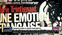 """Extrait de """"Crimes"""" sur NRJ12 sur l'affaire du meurtre de Marie Trintignant par Bertrand Cantat"""