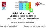 PDC - Relais-Vitesse 12'' - Collecter et traiter les données pour obtenir la vitesse cible
