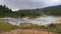 ينابيع المياه الساخنة لتوليد الكهرباء باليابان
