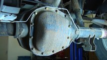 2001 Ford F150 Rear Differential Fluid Replacement Video