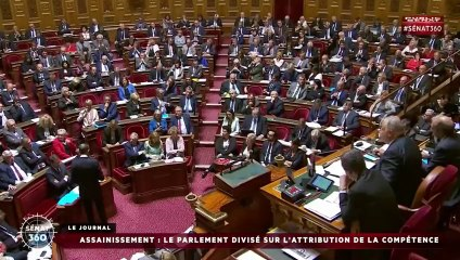Reportage Sénat 360 : rejet de la proposition de loi sur l'eau et l'assainissement