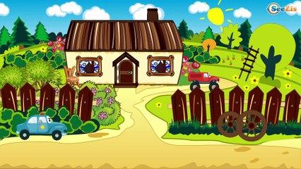 Construction Trucks: The Truck & Dump Truck & Crane - Cars & Trucks Cartoon for kids