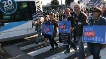 Notre-Dame-des-Landes. Manifestation en faveur du transfert de l'aéroport Nantes Atlantique..