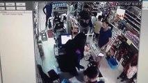 İzmir Marketteki Hırsızlık Güvenlik Kamerasında