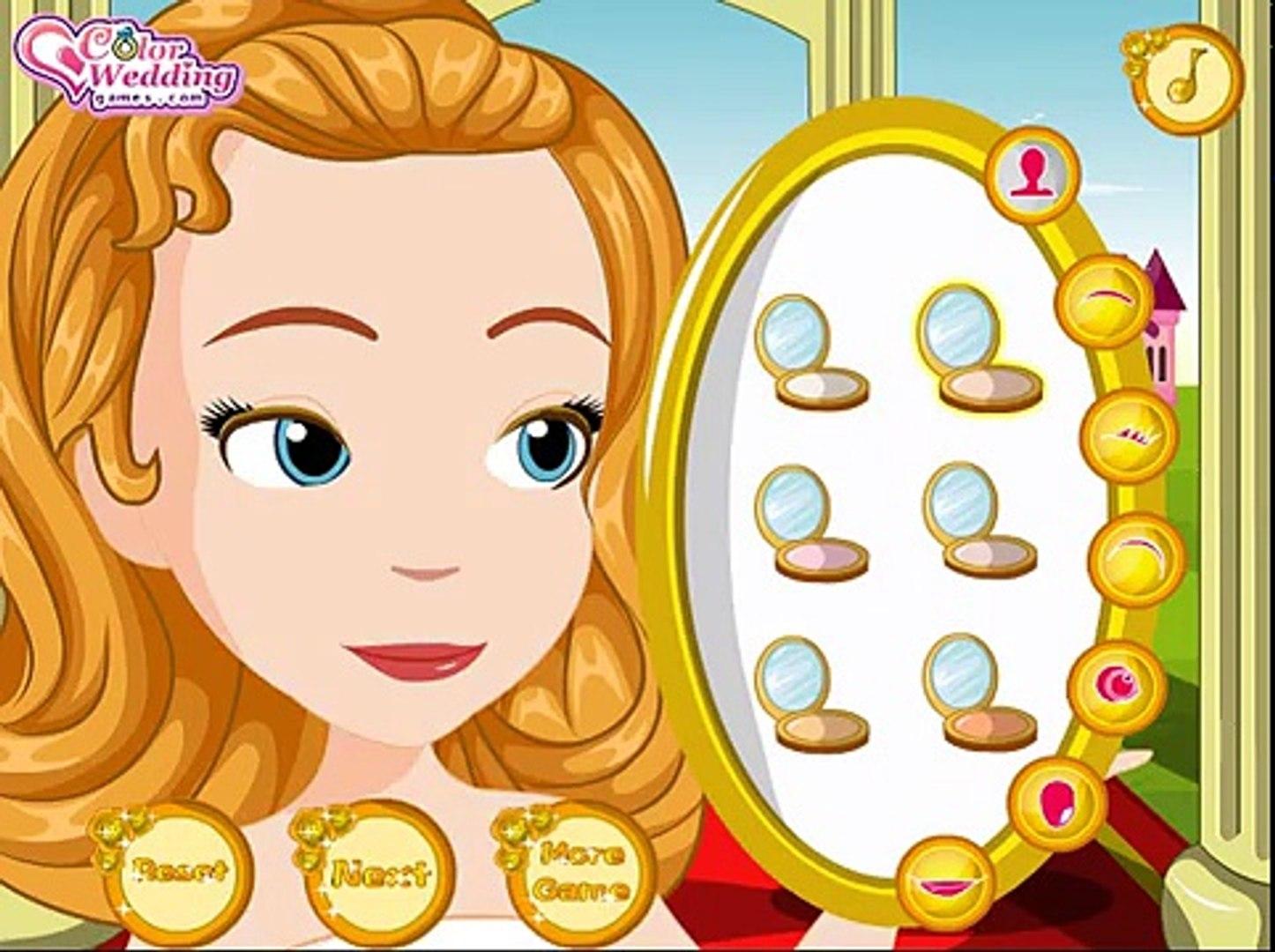 Juegos de la princesa Sofia, Sofía y Amber floristas, Sofia and Amber Flower Girls