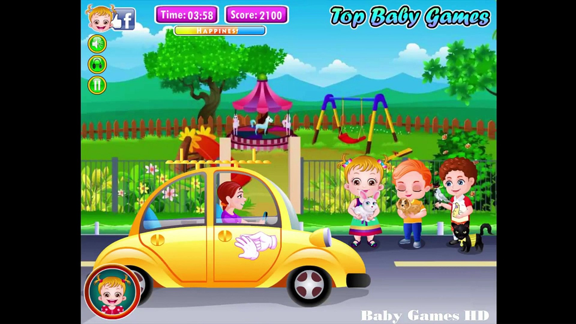 Baby Hazel Pet Hospital - Baby Games HD