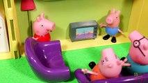 Peppa e George Encontram um Gatinho!!! Dinossauro Olaf Episódio 1!!! Novelinha em Português Max Kids
