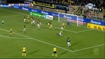 1-0 Simon Gustafson Goal Holland  Eredivisie - 14.10.2017 Roda Kerkrade 1-0 NAC Breda