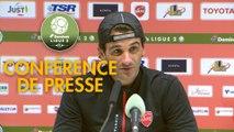 Conférence de presse Valenciennes FC - Tours FC (2-0) : Faruk HADZIBEGIC (VAFC) - Gilbert  ZOONEKYND (TOURS) - 2017/2018