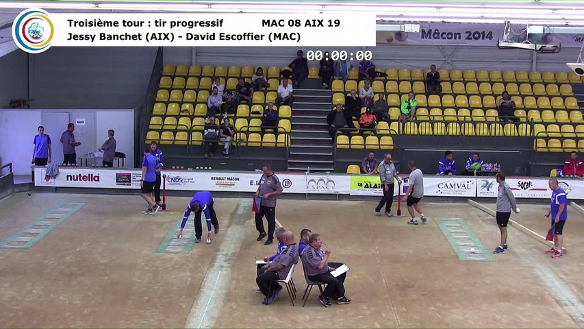 Troisième tour, tir progressif, Club Elite Masculin J2, Mâcon vs Aix-les-Bains, octobre 2017