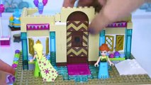 Lego Frozen Fever Arendelle Celebration Castle Disney Princess Build Review Play