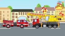 Le Camion Curieux et ses amis - Dessin animé pour bébés - Vidéo Éducative de Voitures Pour Enfants
