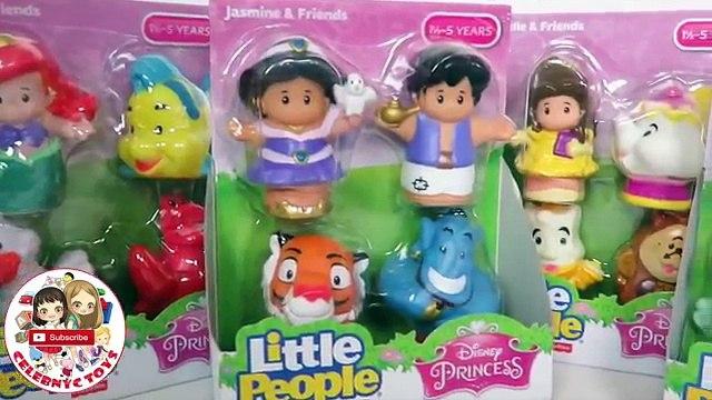 NEW LITTLE PEOPLE Ariel & Friends, Cinderella & Friends, Jasmine & Friends, Belle & Friends