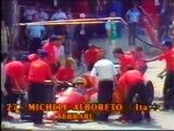 Gran Premio del Messico 1986: Ritiro di Alboreto e sua intervista e pit stop di Mansell