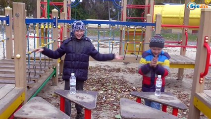 ЧЕЛЛЕНДЖ БУТЫЛКА ВОДЫ Игорек и Богдан Развлечение для детей Bottle Flip Challenge