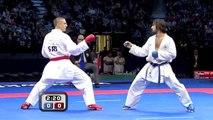 (3/4) Karate Male Team Kumite Final :: Azerbaijan vs Serbia :: WKF World Championships Belgrade new