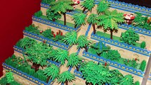 Amazing LEGO time trip - Rome, Egypt, Great Wall, Wild West