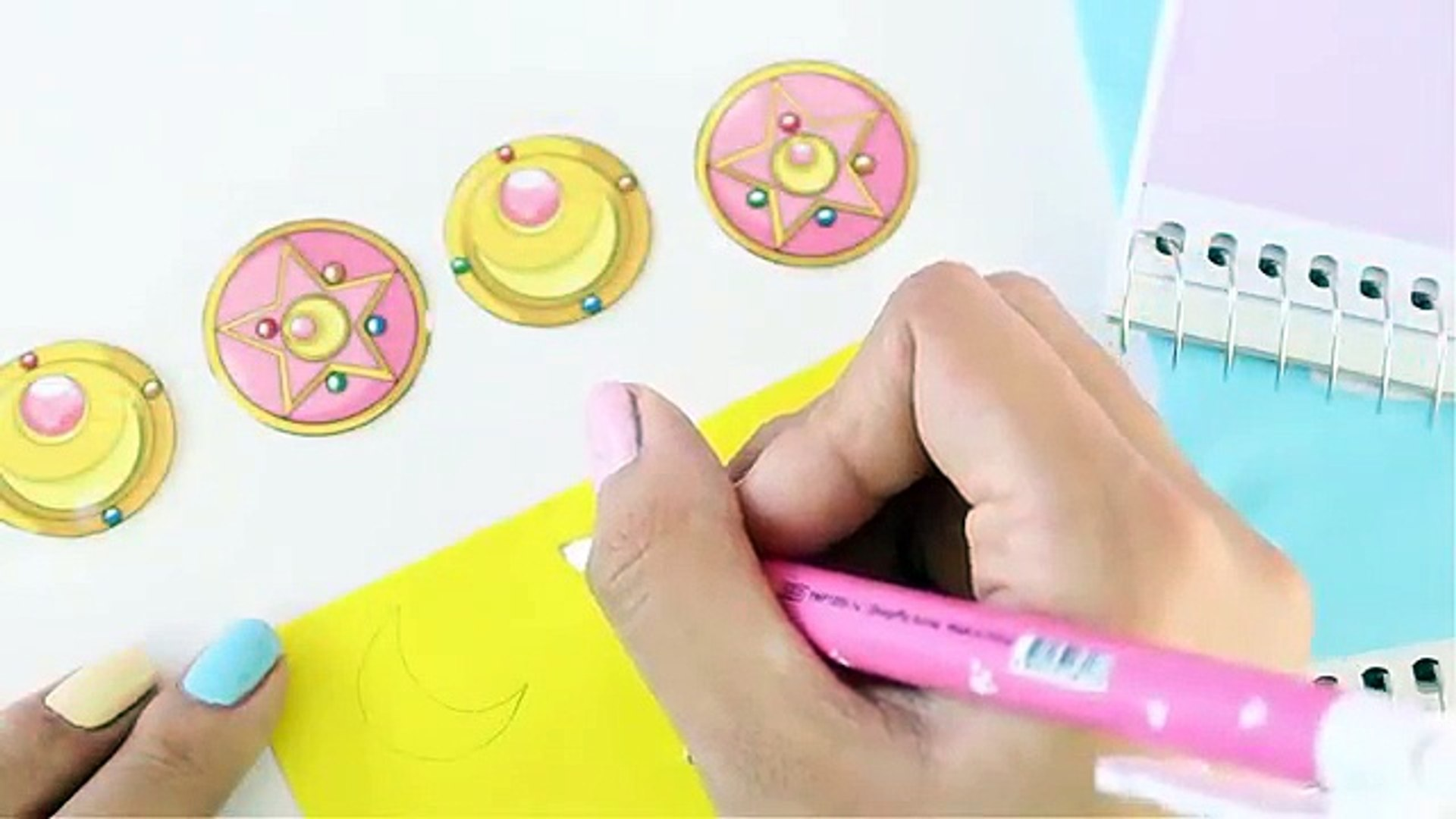 Decorar Cuadernos Sailor Moon Kawaii Regreso A Clases Video Dailymotion