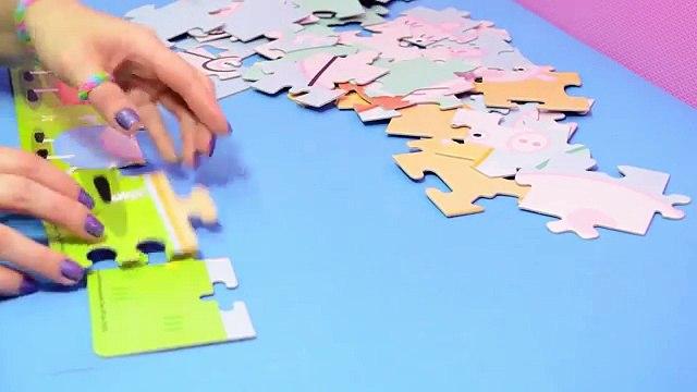Peppa Pig Brinquedo Quebra-Cabeça Grandão da Peppa Portugues - Turma Kids