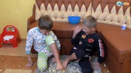 Bad Baby Игорек и Богдан ВРЕДНЫЕ ДЕТКИ! ПЕРЕВОРОТ на КУХНЕ! Видео для детей ШАЛОСТИ