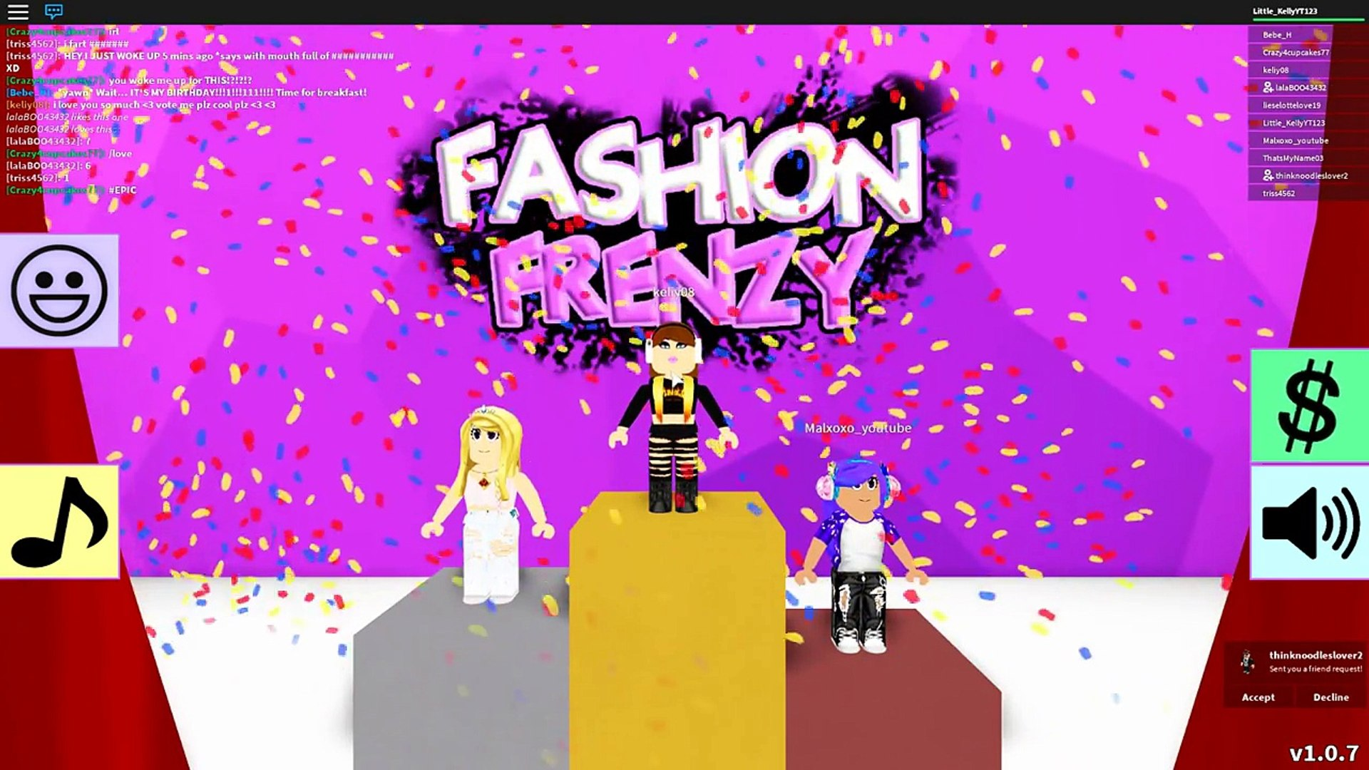 Little Kelly Is A Runway Model Roblox Fashion Frenzy 影片