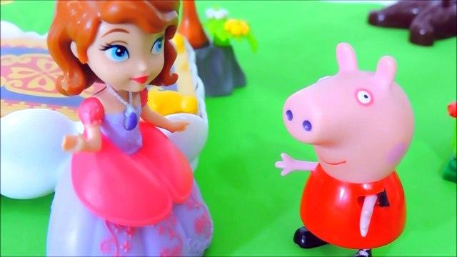 ❤ Peppa Pig ❤ Voa no Tapete Mágico da Princesinha Sofia - Peppa Pig em Portugues Brasil