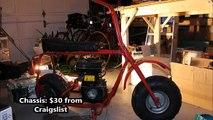 How to Build a Mini Bike- First Cheap Mini Bike Build